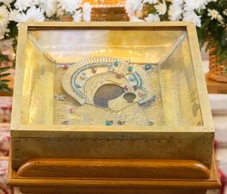 икона Божией Матери «Казанская Вышенская»